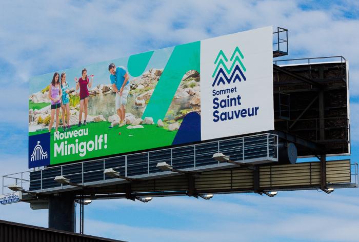 Panneau publicitaire OAIQ autoroute