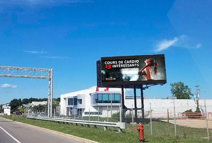 Panneau publicitaire OAIQ autoroute 13